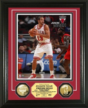 Joakim Noah 24KT Gold Coin Photo Mint