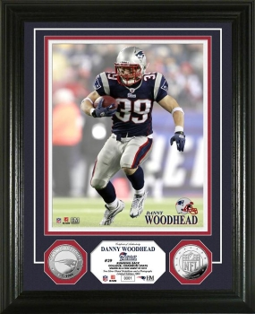 Danny Woodhead 2010 Silver Coin Photo Mint