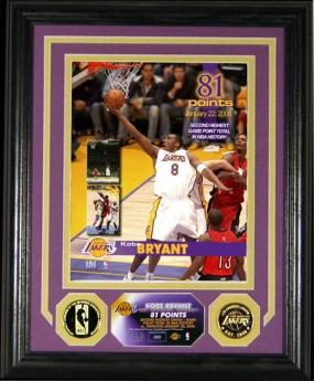 Kobe Bryant 81 Point Photomint