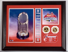 St. Louis Cardinals 10 Time World Series Champions Photo Mint