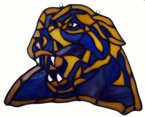 Pittsburgh Panthers Suncatcher