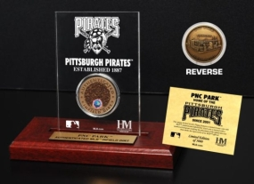 PNC Park Infield Dirt Coin Etched Acrylic