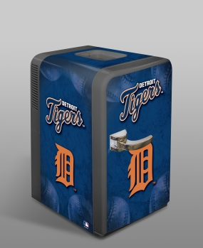 Detroit Tigers Portable Party Refrigerator