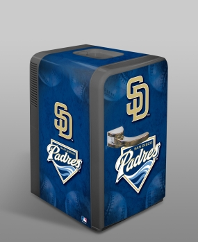 San Diego Padres Portable Party Refrigerator