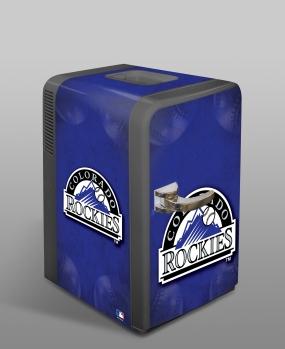 Colorado Rockies Portable Party Refrigerator