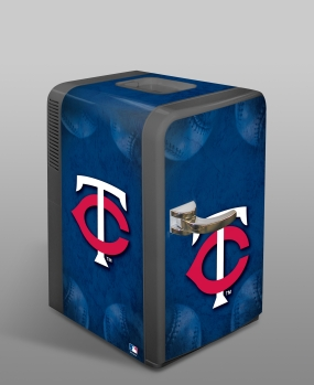 Minnesota Twins Portable Party Refrigerator