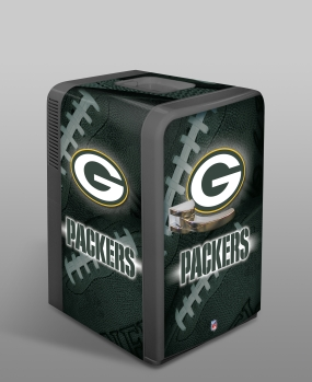 Green Bay Packers Portable Party Refrigerator