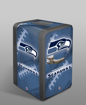Seattle Seahawks Portable Party Refrigerator