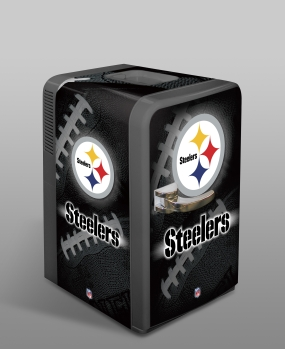 Pittsburgh Steelers Portable Party Refrigerator