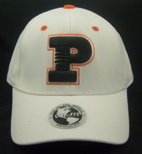Princeton Tigers White One Fit Hat