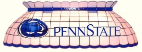 Penn State Nittany Lions Pool Table Light