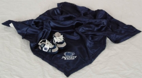 Penn State Nittany Lions Baby Blanket and Slippers