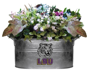LSU Tigers Beverage Tub Planter