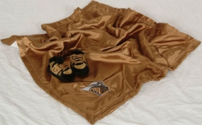 Purdue Boilermakers Baby Blanket and Slippers