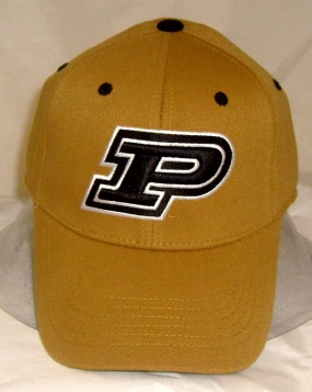 Purdue Boilermakers Team Color One Fit Hat