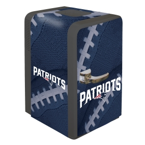 New England Patriots Portable Party Refrigerator