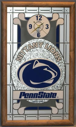 Penn State Nittany Lions Wall Clock