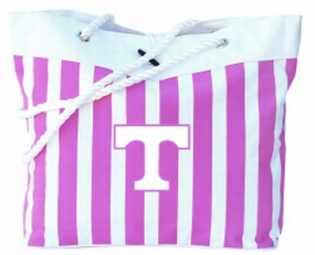 Tennessee Volunteers Pink Cabana Tote