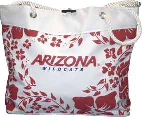 Arizona Wildcats Hibiscus Tote