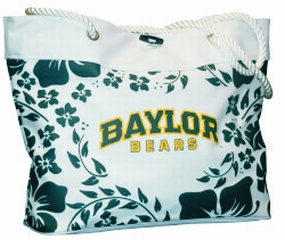 Baylor Bears Hibiscus Tote