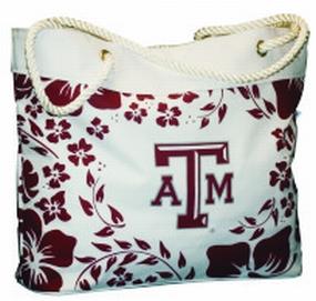 Texas A&M Aggies Hibiscus Tote