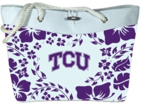 TCU Horned Frogs Hibiscus Tote