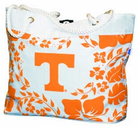 Tennessee Volunteers Hibiscus Tote