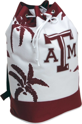 Texas A&M Aggies Palm Tree Vertical Duffel
