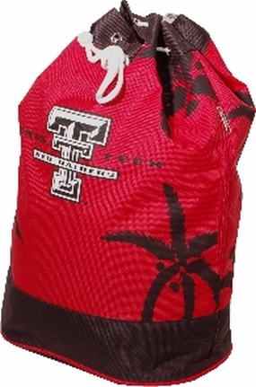 Texas Tech Red Raiders Palm Tree Vertical Duffel