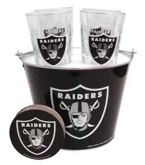 Oakland Raiders Gift Bucket Set
