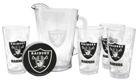Oakland Raiders Pitcher Set