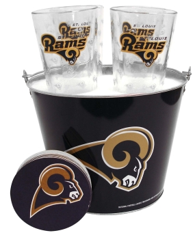 Saint Louis Rams Gift Bucket Set