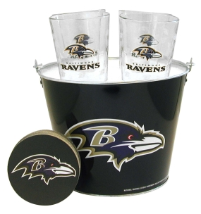 Baltimore Ravens Gift Bucket Set