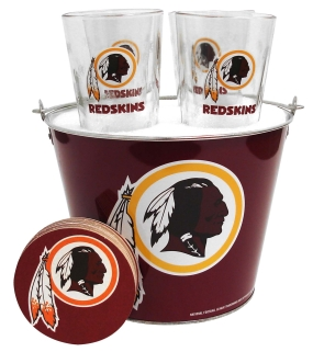 Washington Redskins Gift Bucket Set