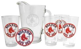 Boston Red Sox Pitcher Set