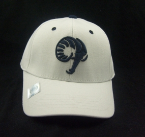 Rhode Island Rams White One Fit Hat