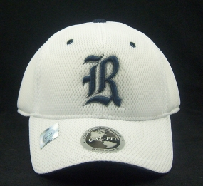 Rice Owls White Elite One Fit Hat