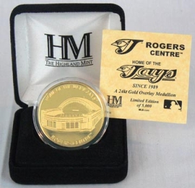 Rogers Centre 24KT Gold Commemorative Coin