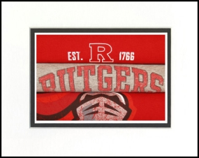 Rutgers Scarlet Knights Vintage T-Shirt Sports Art