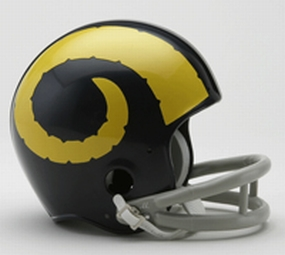 1949 Los Angeles Rams Throwback Mini Helmet