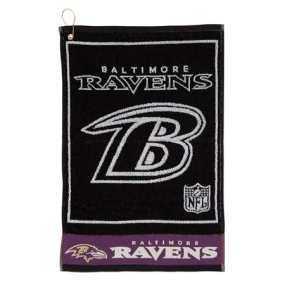 Baltimore Ravens Jacquard Golf Towel