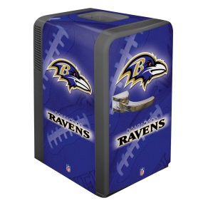 Baltimore Ravens Portable Party Refrigerator