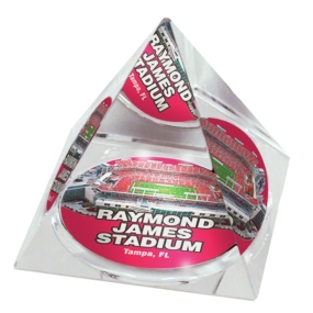 Tampa Bay Buccaneers Crystal Pyramid