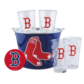 Boston Red Sox Gift Bucket Set