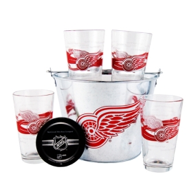 Detroit Red Wings Gift Bucket Set