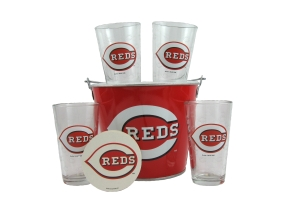 Cincinnati Reds Gift Bucket Set