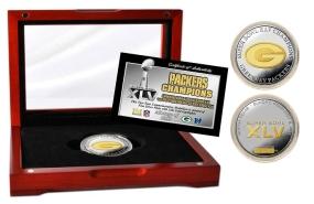 Super Bowl XLV Champions 2-Tone Coin