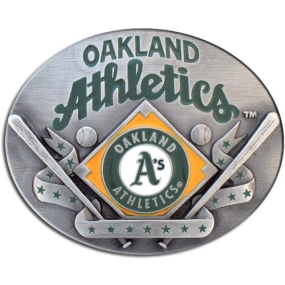 MLB Belt Buckle - Oakland Athletics