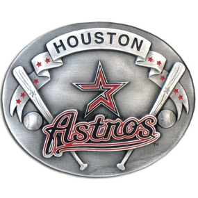MLB Belt Buckle - Houston Astros