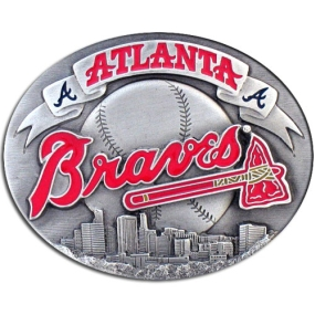 MLB Belt Buckle - Atlanta Braves